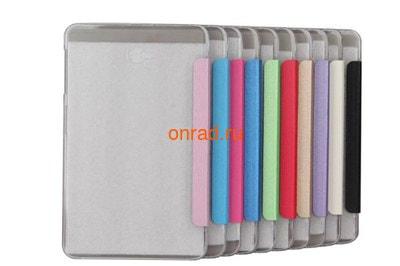 Чехол smart cover для планшетов Samsung (фото, вид 2)