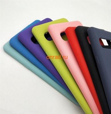 Накладка silicone cover для Samsung (фото, вид 1)