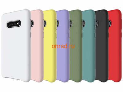 Накладка silicone cover для Samsung (фото, вид 2)