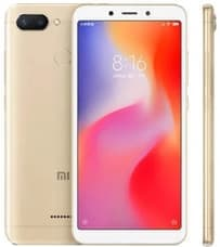 Смартфон Xiaomi Redmi 6 3/32GB Gold