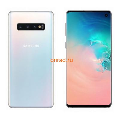 Смартфон Samsung Galaxy S10 8/128GB Prism White