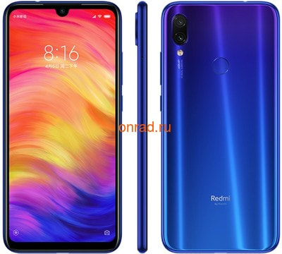 Смартфон Xiaomi Redmi Note 7 6/64GB Blue (Синий)