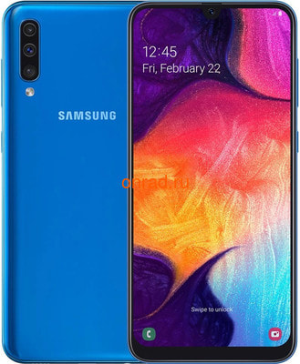 Смартфон Samsung Galaxy A50 A505F-DS 4/128Gb Blue