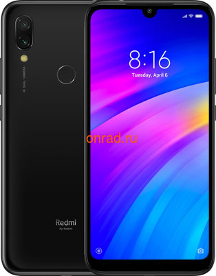 Смартфон Xiaomi Mi Play 4/64GB Black