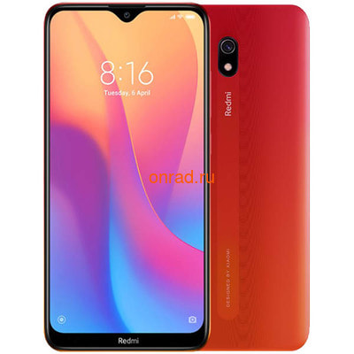 Смартфон Xiaomi Redmi 8A 2/32GB Red