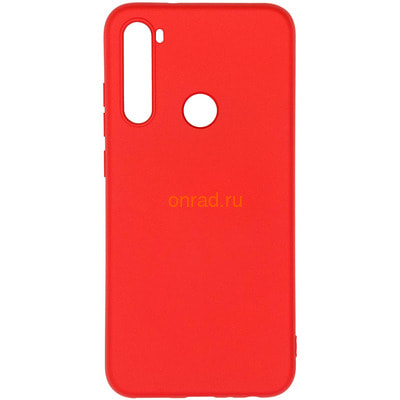 Чехол Silicon Case на Xiaomi Redmi Note 8 Red