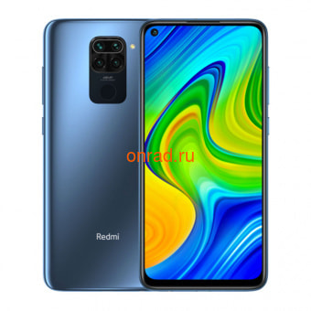 Смартфон Xiaomi Redmi Note 9 3/64GB Grey