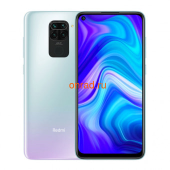 Смартфон Xiaomi Redmi Note 9 4/128GB (NFC) White
