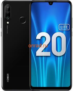 Смартфон HONOR 20 Lite 4/128GB (RU) Black