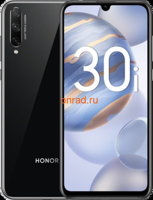 Смартфон HONOR 30i Black (Черный)