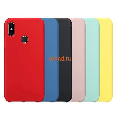 Накладка silicone cover для Xiaomi (фото)