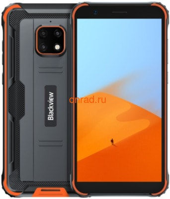 Смартфон Blackview BV4900 Pro Orange (черный/оранжевый)