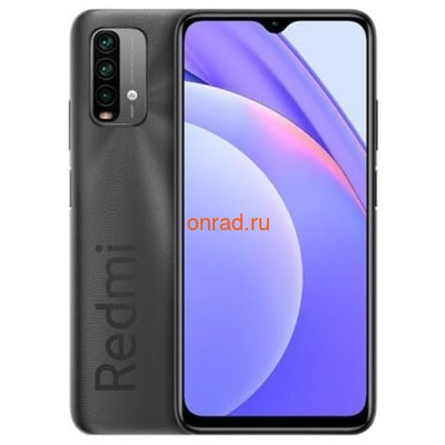 Смартфон Xiaomi Redmi 9T 4/64GB NFC Carbon Gray