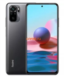Мобильный телефон Xiaomi Redmi Note 10 4/128Gb Onyx Gray Global Version